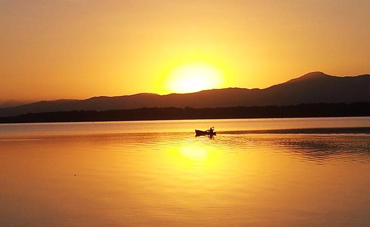 Canoeing at Los Olingos